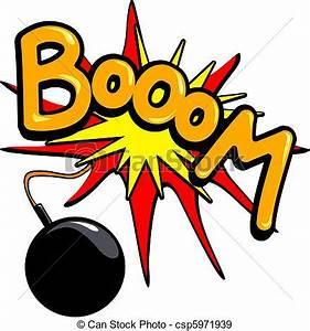 Booom Imagen vectorial libre de derechos de autor csp5971939