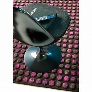 Tapis de luxe design violet et taupe 250 x 350 cm vitalize for Tapis carre 250 x 250