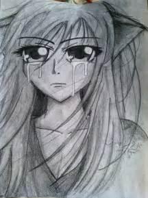 Pretty Anime Girl Crying