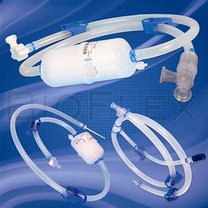 Single Assemblies Tubing Bioflex Filter Fluid Path
