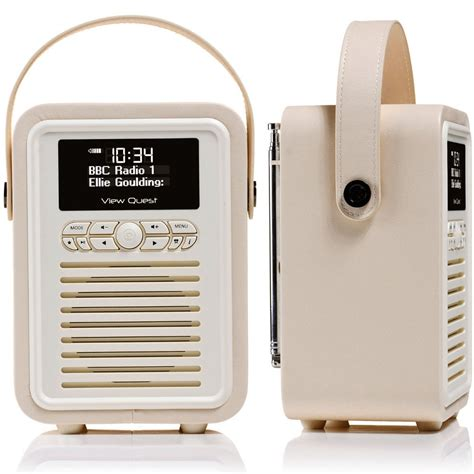 mini dab radio view quest retro mini dab digital radio usb aux bluetooth portable speaker ebay