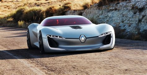 renault trezor renault trezor concept previews next gen styling at paris