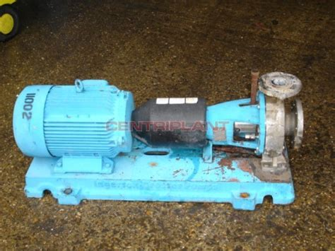 11002 ingersoll dresser stainless steel pump type 80 50
