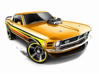 Wheels Mustang Transparent Clipart Ford Background Yellow