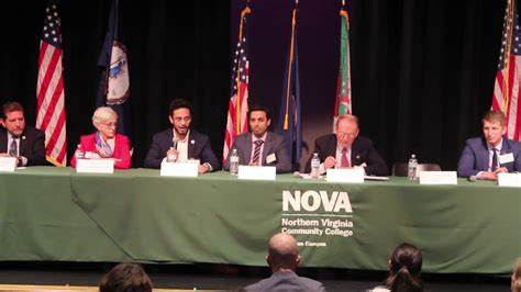 2019 VA General Assembly Candidate Forum NVCC and LWV of