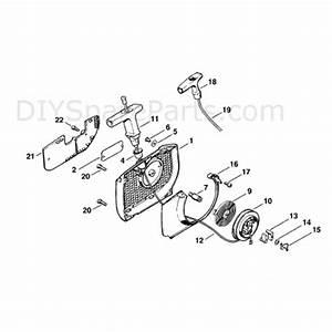 Stihl Ms 460 Chainsaw  Ms460 Magnum  Parts Diagram  Rewind