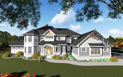 spacious traditional family home   law suite ah architectural designs house plans