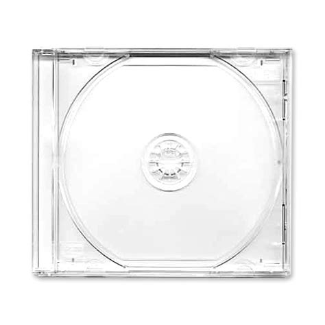 cd jewel case cases clear trays