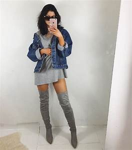 20 Style Tips On How To Wear Thigh High Boots This Fall - Gurl.com | Gurl.com