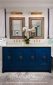 17 best ideas about bright bathrooms on pinterest With kitchen cabinets lowes with navy blue and pink wall art