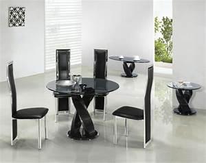 Petite Table Salle À Manger : table manger design moderne et contemporain en verre ~ Melissatoandfro.com Idées de Décoration