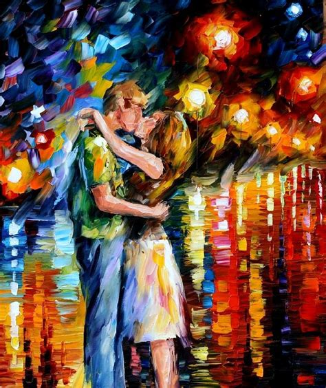 Love through Leonid Afremov's Strokes – 4ever21christina