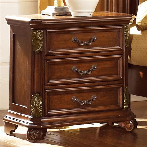 Bedroom Furniture Stands by Estella Nightstand With 3 Drawers Rotmans Nightstands