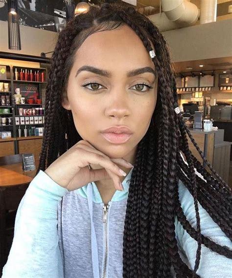 tessa jumbo box braids hairstyles hairstyles with box braids