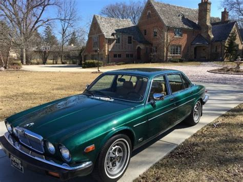 jaguar x300 fantastic 1983 jaguar xj6 saloon finished in racing green with