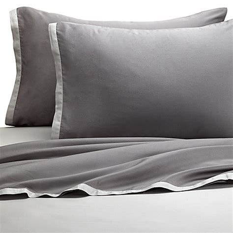 buy kas 174 two tone light grey grey sheet from bed