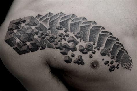 awesome geometric stipple tattoos  kenji alucky sick