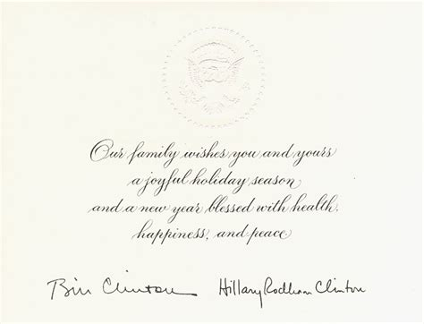 ca christmas welcome message 1994 at the white house 1 dec 1994