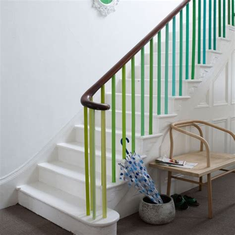 Painting Banisters by 12 Ideas To Spice Up Your Stairs