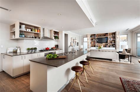Interior Design Open Plan Kitchen Living Room