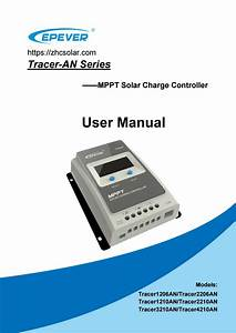 Epever Mppt Manual Tracer An Solar Charge Controller By