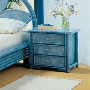 Table De Chevet Bleu : table de chevet unique pour d corer votre chambre ~ Preciouscoupons.com Idées de Décoration