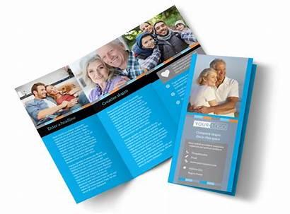 Insurance Brochure Template Templates Fold Brochures Tri