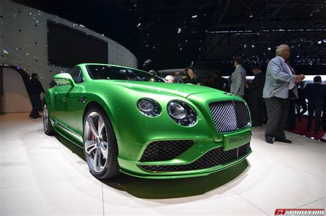 bentley geneva geneva 2015 bentley continental gt and gt c facelift
