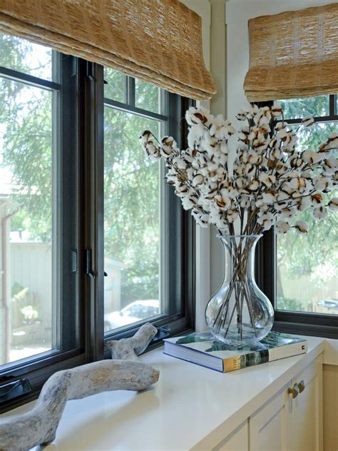 Window Treatments Shades by Large Kitchen Window Treatments Hgtv Pictures Ideas Hgtv