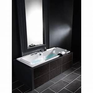 Rideau De Baignoire Leroy Merlin : baignoire rectangulaire cm blanc jacob ~ Dailycaller-alerts.com Idées de Décoration