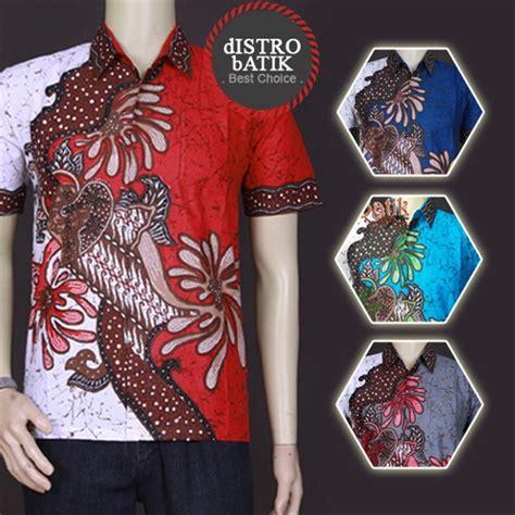 jual terlaris baju kemeja batik pria modern langsung pabrik di lapak pgm pusat grosir