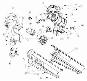 Ryobi Resv1300 Parts List And Diagram