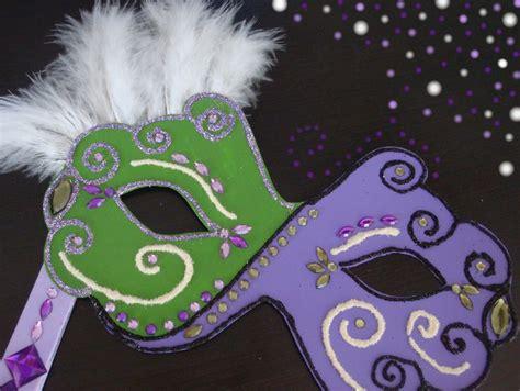 tutoriel fabriquer un masque de carnaval femme2decotv carnaval masque de