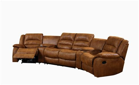 curved sofa furniture reviews curved leather sofa recliner