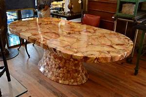 Onyx Oval Dining Table By Muller39s Of Mexico For Sale At