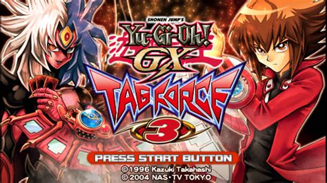 psp yu gi oh gx force tag ppsspp iso game europe games strategy setting movgamezone