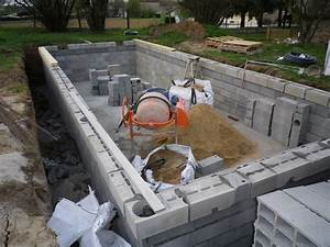 construction d39une piscine traditionnelle haut de gamme de With fabrication d une piscine