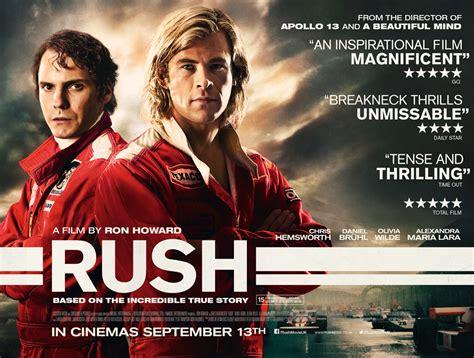 Rush (2013)  Movie Review  Three Chinguz  Reviews & Rantings