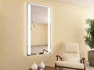 Wandspiegel Mit Licht : beleuchteter wandspiegel dielenspiegel mit led ws 121nl4 emma ~ Orissabook.com Haus und Dekorationen