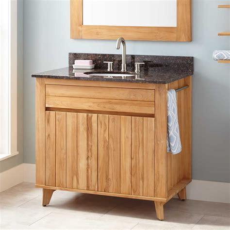 teak bathroom vanity 36 quot antioch teak vanity for undermount sink teak
