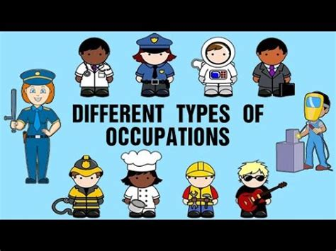different types of occupations learning about and 803 | hqdefault