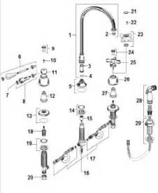 american standard kitchen faucets repair order replacement parts for american standard 4751 732