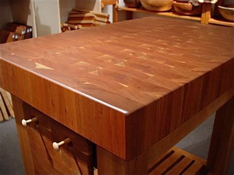 cherry butcher block island butcher block island end grain solid cherry northwest fine woodworking gifts la conner