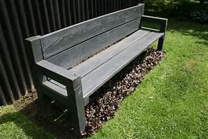 Holzbank Massiv Stamm : gartenbank aus beton lawn and garden t muebles ~ Watch28wear.com Haus und Dekorationen