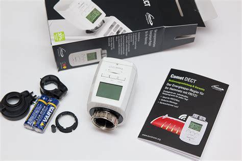 comet dect test die heizung mit der fritzbox steuern