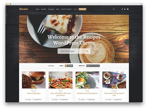 cuisine site food ordering website templates images templates