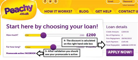 80784 Term Loans Promo Code by Peachy Promo Codes Allpaydaylenders
