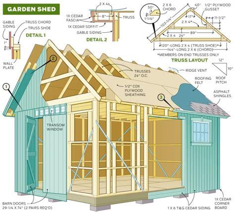 yard shed plans explored shed blueprints