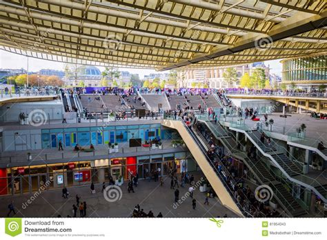 Forum Les Halles In Paris, France Editorial Stock Photo