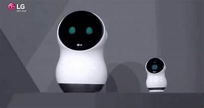 Lg Robot Hub Clipset Robots Ces2017 Sonrisa